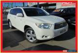 Classic 2007 Toyota Kluger GSU45R Grande White Automatic 5sp A Wagon for Sale