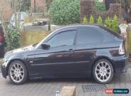 2001 BMW 316TI SE COMPACT BLACK ( CAT D ) for Sale