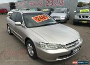 1999 Honda Accord V6 Gold Automatic 4sp A Sedan for Sale