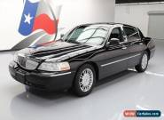 2010 Lincoln Town Car Signature Limited Sedan 4-Door for Sale