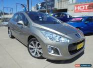 2011 Peugeot 308 T7 XSE HDI Grey Manual 6sp M Hatchback for Sale