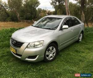 Classic 2007 Toyota Aurion GSV40R AT-X Silver Automatic 6sp A Sedan for Sale