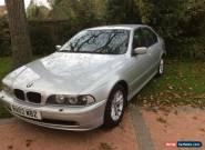 2002 BMW 530D SE Automatic Silver for Sale