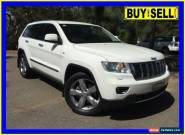 2011 Jeep Grand Cherokee WK Limited (4x4) White Automatic 5sp A Wagon for Sale