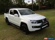 2013 Volkswagen Amarok 2H MY13 TDI420 Highline (4x4) White Automatic 8sp A for Sale