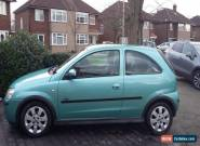 2004 VAUXHALL CORSA SXI 16V SILVER Mot just run out as another car purchased for Sale