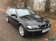 2002 52 BMW 318 I SE 2.0 TOURING 3 SERIES ESTATE PETROL CAR 99P NO RESREVE  for Sale