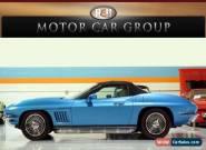 1967 Chevrolet Corvette 427 Convertible 2-Door for Sale