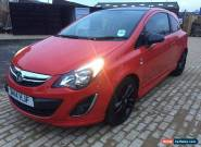 2014 VAUXHALL CORSA D 1.2l LIMITED EDITION RED for Sale