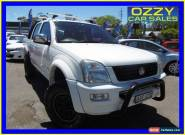 2005 Holden Rodeo RA LT (4x4) White Automatic 4sp A Crewcab for Sale
