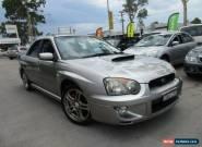 2005 Subaru Impreza S MY05 WRX Club Spec EVO 8 Silver Manual 5sp M Sedan for Sale