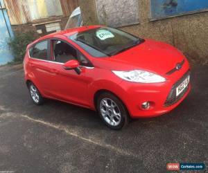 Classic 2012 FORD FIESTA 1.2 ZETEC RED 5 DOORS PETROL BLUETOOTH  for Sale