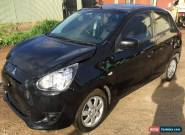 2013 Mitsubishi Mirage Hatchback 58km EASY REPAIR DAMAGED REPAIRABLE for Sale