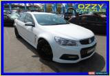Classic 2014 Holden Commodore VF SS White Automatic 6sp A Sedan for Sale