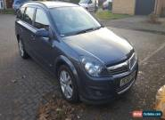 2008 VAUXHALL ASTRA SXI CDTI 100 ESTATE BLUE/GREY STUNNING CAR FULL SERVICE HIST for Sale