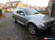BMW X3 2.5i Manual, leather interior, Great Spec   for Sale