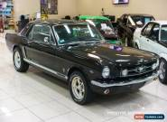 1965 Ford Mustang 289V8 Black Manual M Coupe for Sale