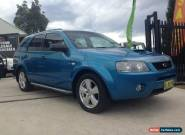 2007 Ford Territory SY Turbo (4x4) Blue Automatic 6sp A Wagon for Sale