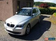 2007 BMW 520D SE TOURING SILVER for Sale