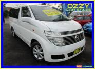 2003 Nissan Elgrand E50 White Automatic 4sp A Wagon for Sale