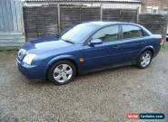 2003 VAUXHALL VECTRA CLUB 16V BLUE for Sale