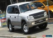 2002 Toyota Landcruiser Prado VZJ95R GXL (4x4) White Automatic 4sp A Wagon for Sale