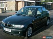 2003 BMW 325I SE AUTO GREEN Full year's MOT for Sale