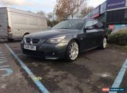 2008 BMW 530D M SPORT TOURING A GREY FULL BMW SERVICE HISTORY  for Sale