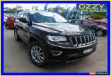 Classic 2013 Jeep Grand Cherokee WK MY13 Laredo (4x4) Black Automatic 5sp A Wagon for Sale