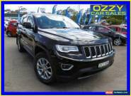 2013 Jeep Grand Cherokee WK MY13 Laredo (4x4) Black Automatic 5sp A Wagon for Sale