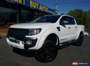 2015 Ford Ranger PX Wildtrak 3.2 (4x4) White Automatic 6sp A Crewcab for Sale