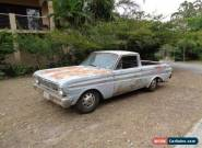 "1965 FORD RANCHERO UTE 289 C4 AUTO 8"" PROJECT CAR NEEDS TLC RUNS CLEAN CA CAR   for Sale"
