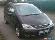 2005 FORD GALAXY GHIA TDDI BLACK TDI 130 bhp Very Low Mileage for Sale