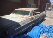 Chevrolet Impala 1964 Project for Sale