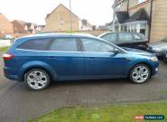 2007/57 FORD MONDEO TITANIUM X TDCI140 5DR ESTATE BLUE LEATHER SUNROOF NO RESERV for Sale