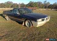 "FORD FALCON UTE XG ""S PACK"" LONGREACH. 5 Speed manual 4 Litre Crossflow for Sale"