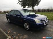 2005 VAUXHALL VECTRA LIFE BLUE 1.8 spares or repair for Sale