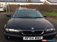 2004 BMW 318I SE TOURING BLACK for Sale