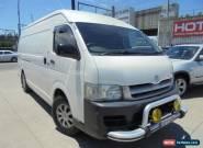 2006 Toyota Hiace KDH220R SLWB White Manual 5sp M Van for Sale