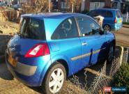 RENAULT MEGANE DYNAMIQUE 2004 PLATE 16V 2 DOOR for Sale