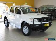 2008 Toyota Hilux 4X4 SR White Manual 5sp M Utility for Sale