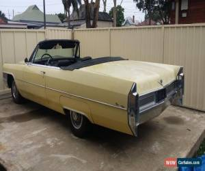 Classic Cadillac De Ville Coupe Convertible 1965 Model for Sale