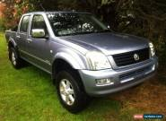 HOLDEN RODEO DUAL CAB, RA,  Auto , Air, Cruise, P/S, Mags Airbags for Sale
