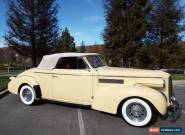 1939 Cadillac Other 2 DOOR CONVERTIBLE for Sale