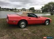 1987 Chevrolet Corvette Base Convertible 2-Door for Sale