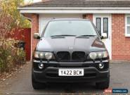 Black BMW X5 2001 (Y) 3.0 Petrol Automatic, 112K miles, MOT Till April 2017 for Sale