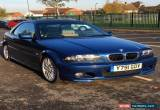Classic 2001 BMW 325 CI M SPORT AUTO CONVERTIBLE BLUE for Sale