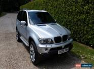 2005 BMW X5 SPORT AUTO SILVER, Fantastic condition, good history, 107000miles!! for Sale