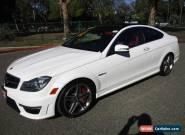 2013 Mercedes-Benz C-Class Base Coupe 2-Door for Sale
