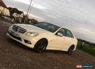 2009 MERCEDES-BENZ C220 BLUEF-CY SPORT CDI A WHITE just 50k miles px/swap  for Sale